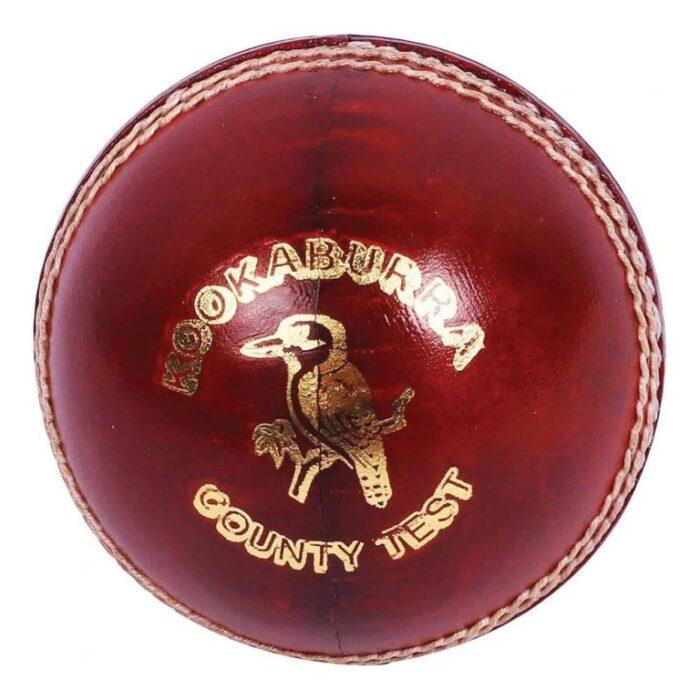 KOOKABURRA County Test 4 Piece Leather Cricket Ball
